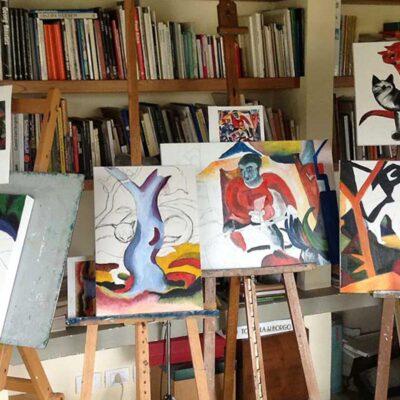 Kunstkurs im Atelier