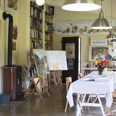 Atelier- und Aufenthaltsraum